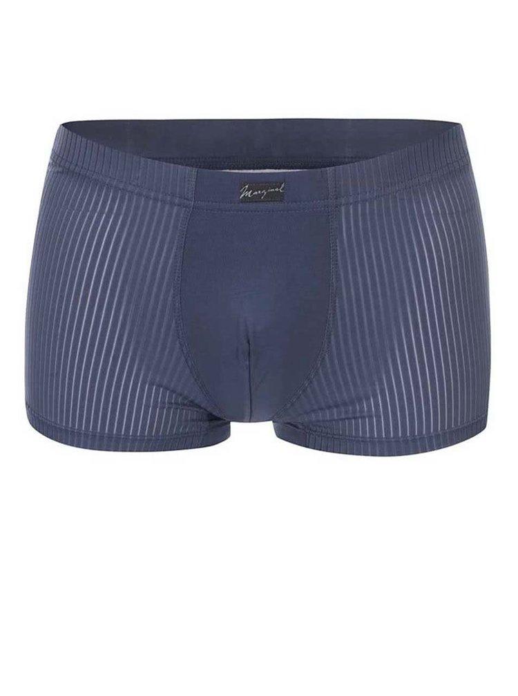 Tmavě modré vzorované boxerky Marginal