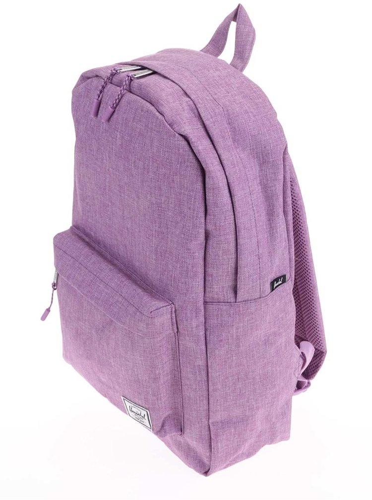 Tmavě růžový batoh Herschel Classic Mid-Volume