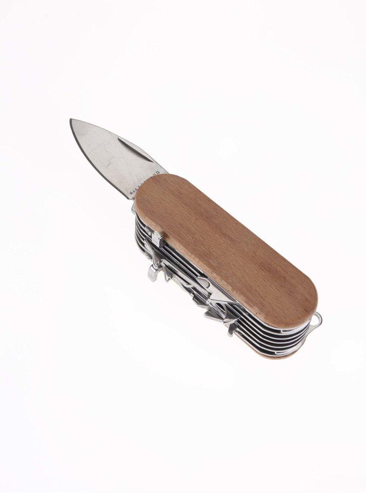 Multifunčkní nůž 7 v 1 ve tvaru lamy Kikkerland