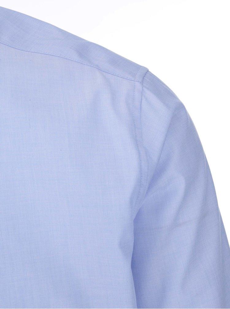 Svetlomodrá košeľa s jemným vzorom Seidensticker Frank