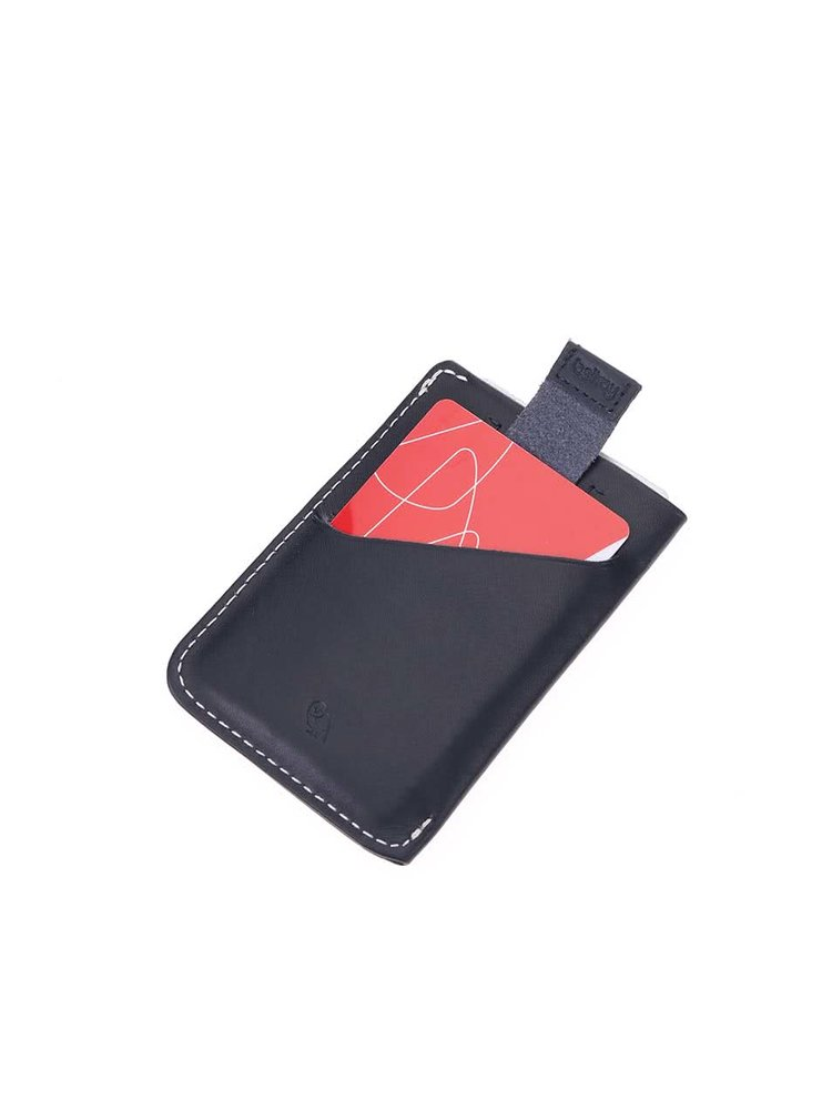 Suport pentru carduri, din piele, Bellroy Card Sleeve - bleumarin