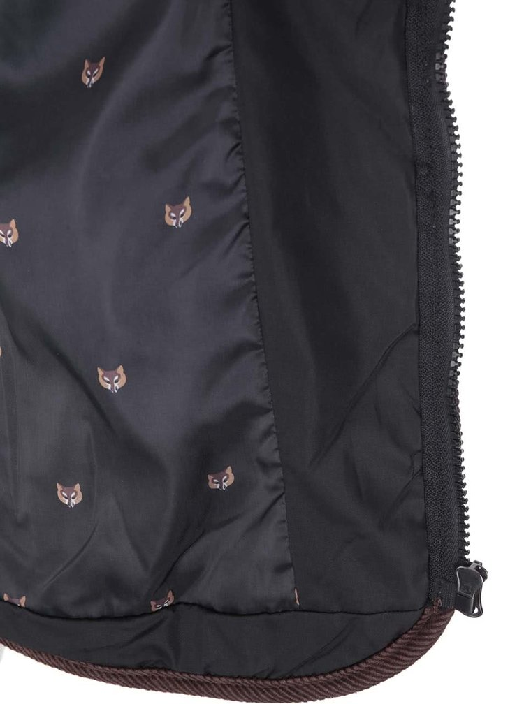 Černá dámská bunda s kapucí Brave Soul Major