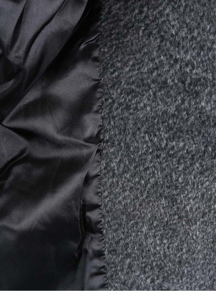 Šedý krátký kabát Haily´s Liliane