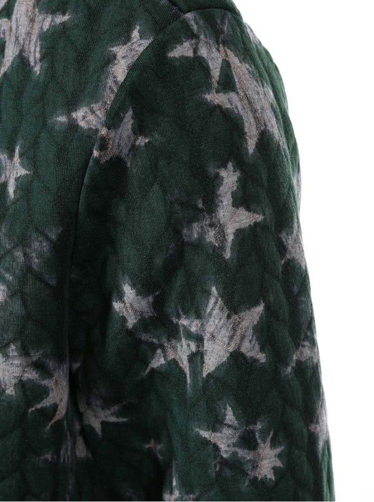 Zelený blejzer s potlačou hviezd ONLY Star