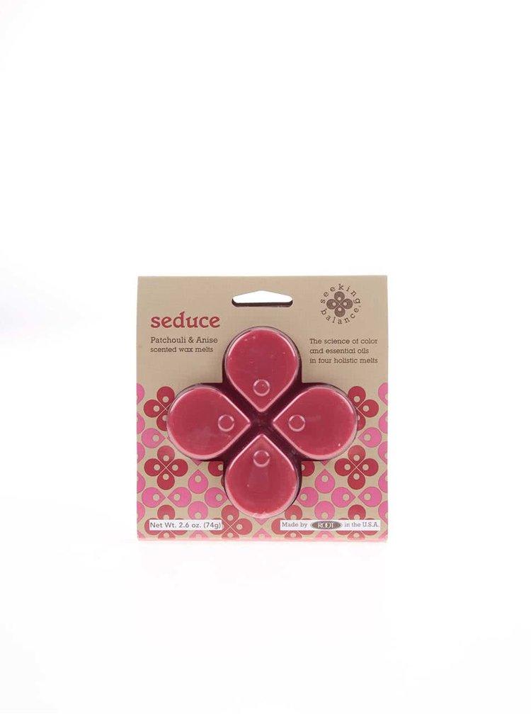Červený vonný vosk Root Candles Patchouli & Anise - Seduce