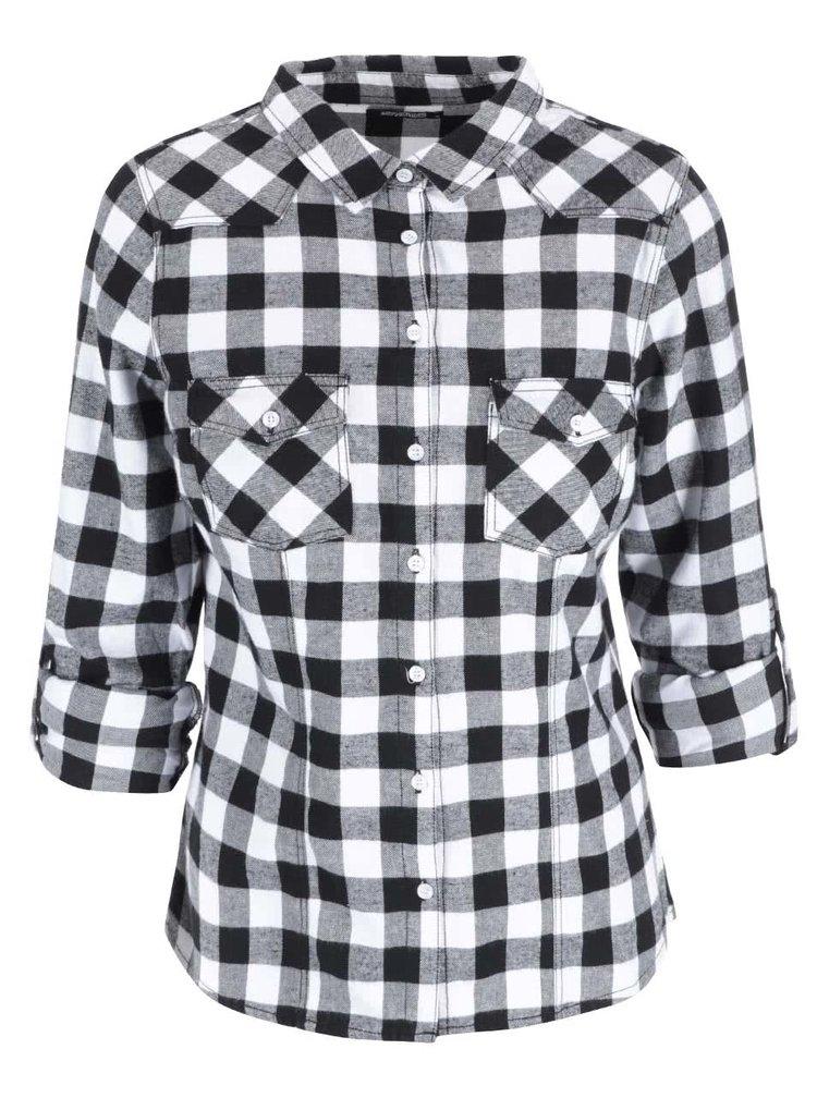 Bílá kostkovaná košile Haily´s Sherley