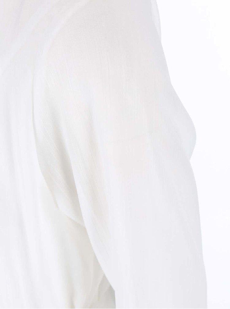 Bílá delší halenka Madonna Ana
