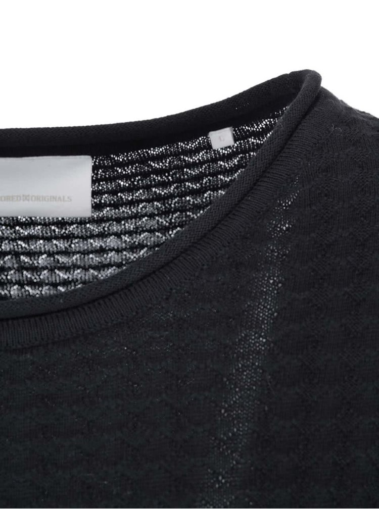 Černý svetr Tailored & Originals Newgate