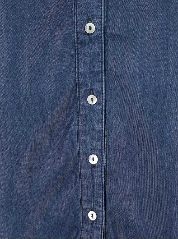 Tmavě modrá denimová košile VILA Rams
