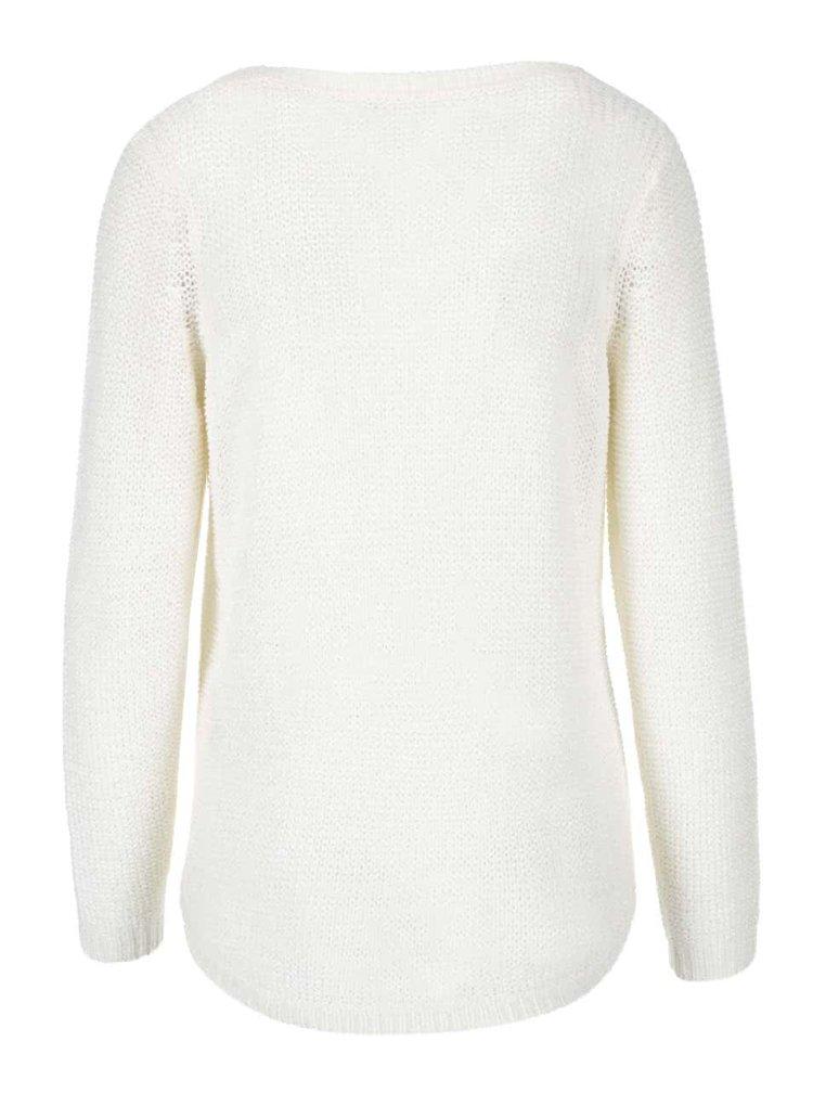 Krémový sveter ONLY Geena