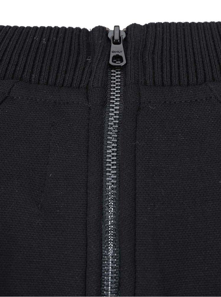 Černý dlouhý svetr ONLY Beryl