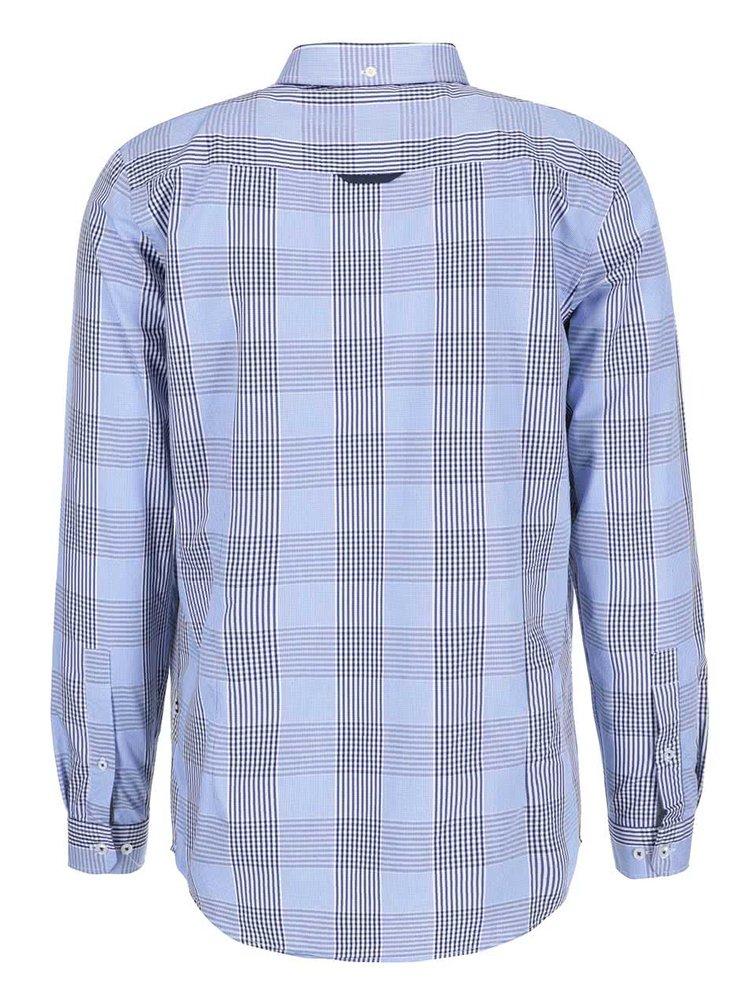Svetlomodrá kockovaná košeľa Tailored & Originals Fullham Check