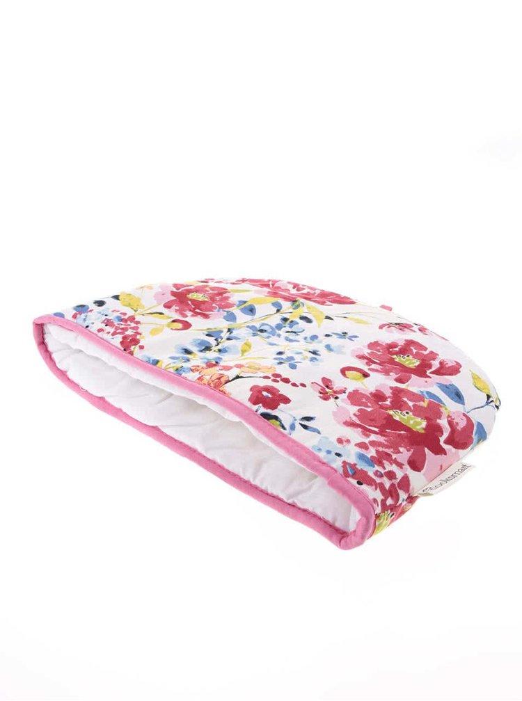 Bielo-ružová kvetinová čiapka na kanvicu Cooksmart Floral Romance