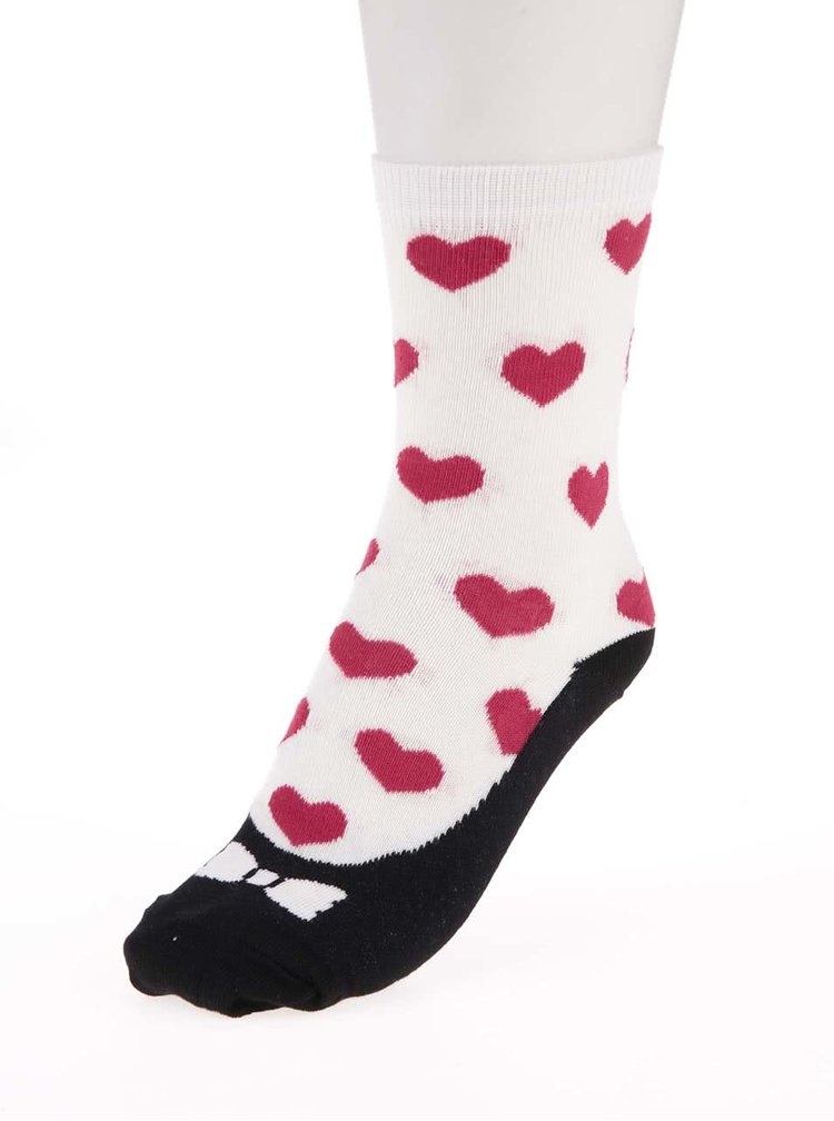 Súprava troch farebných dámskych/dievčenských ponožiek so vzorom Oddsocks Ballet