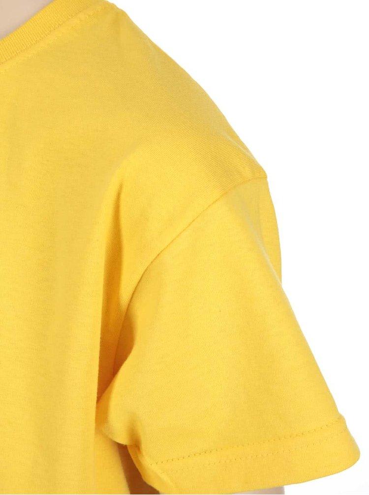 Žluté dětské triko ZOOT Kids Neříkej to mámě
