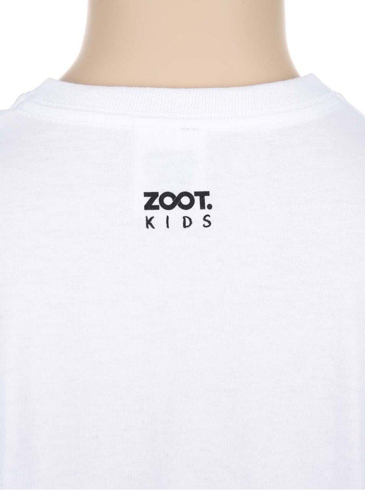 Bílé dětské tričko ZOOT Kids Poslední čisté triko