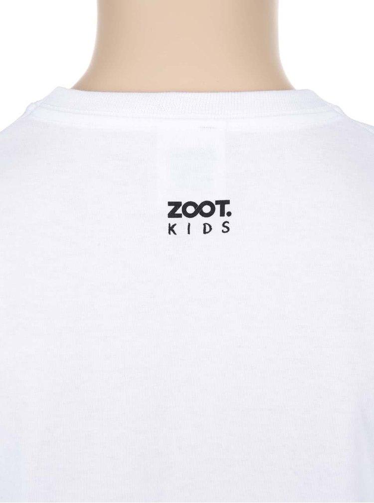 Biele dievčenské tričko ZOOT Kids Jsem zlobivá holka