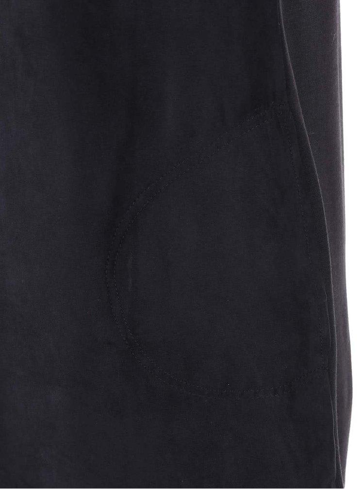 Černé volnější šaty Dorothy Perkins