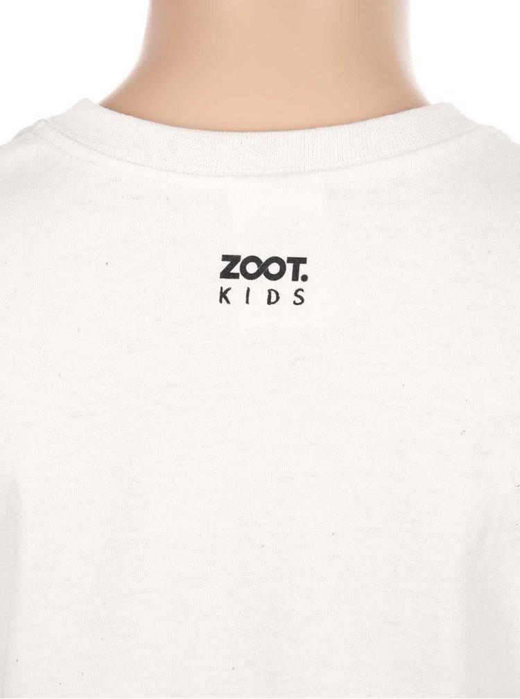 Krémové detské tričko ZOOT Kids I Never Read
