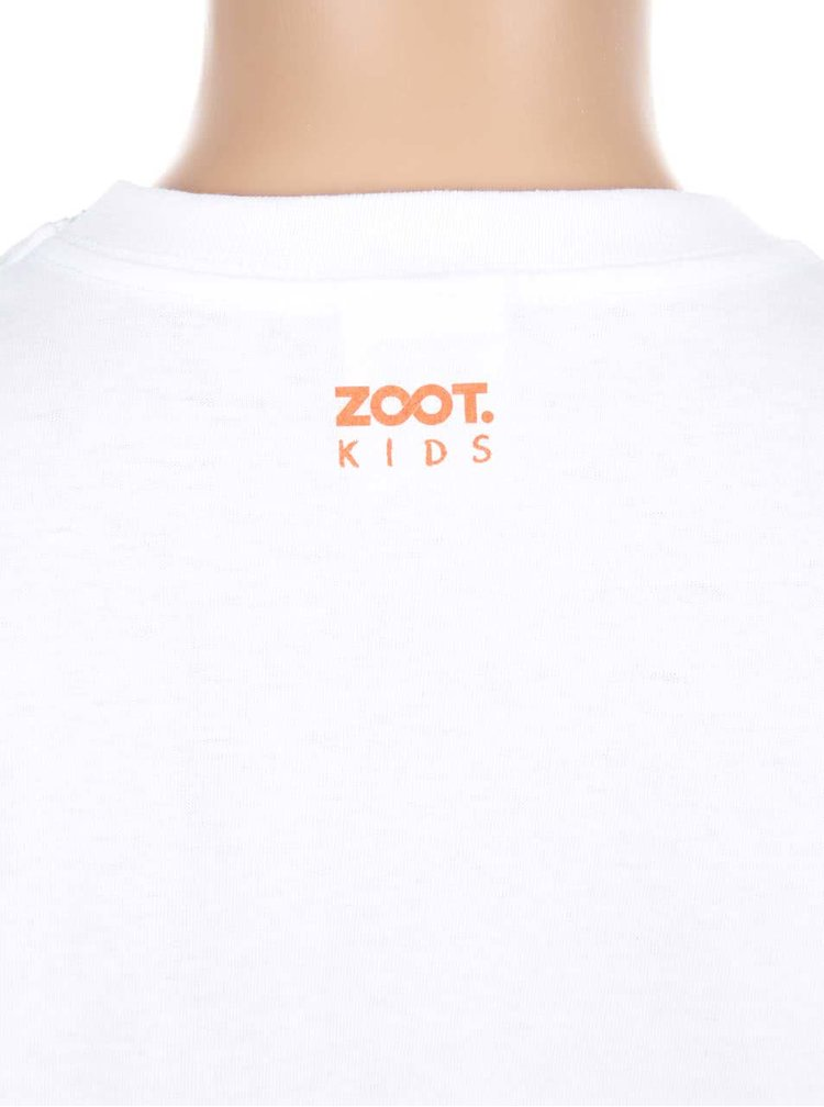 Bílé holčičí triko ZOOT Kids Liška