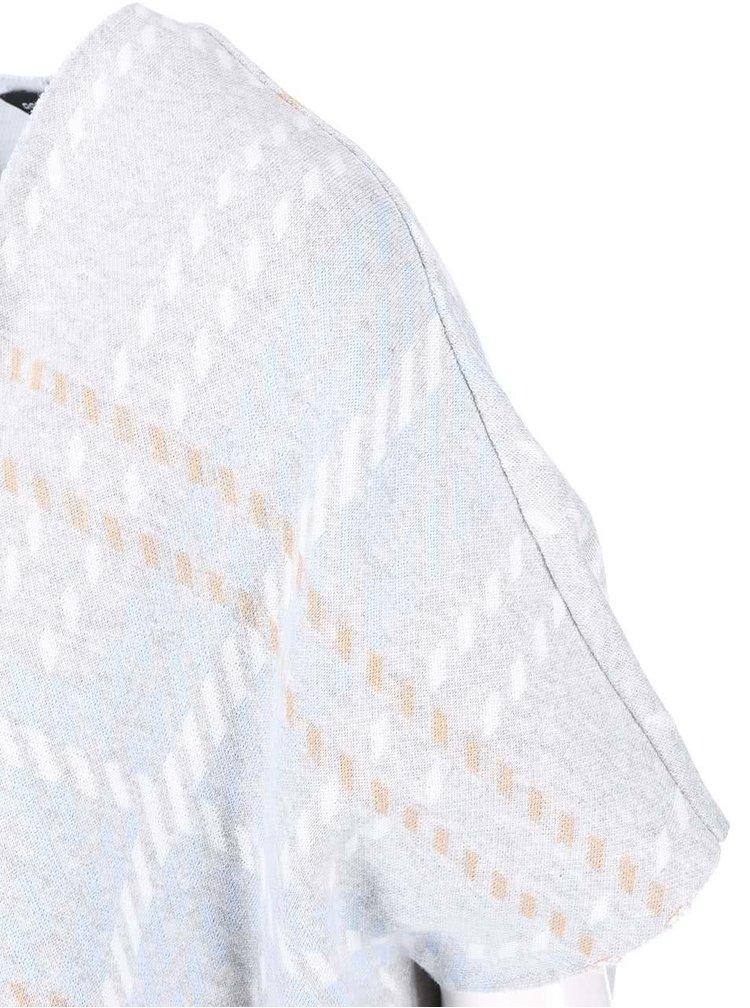Světle šedý vzorovaný cardigan Dorothy Perkins