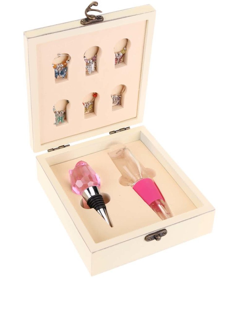 Set roz pentru iubitorii vinului Something Special by Moon