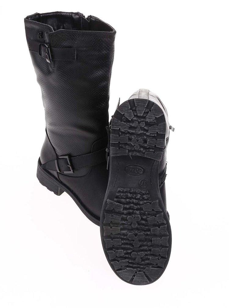 Cizme negre reglabile Refresh
