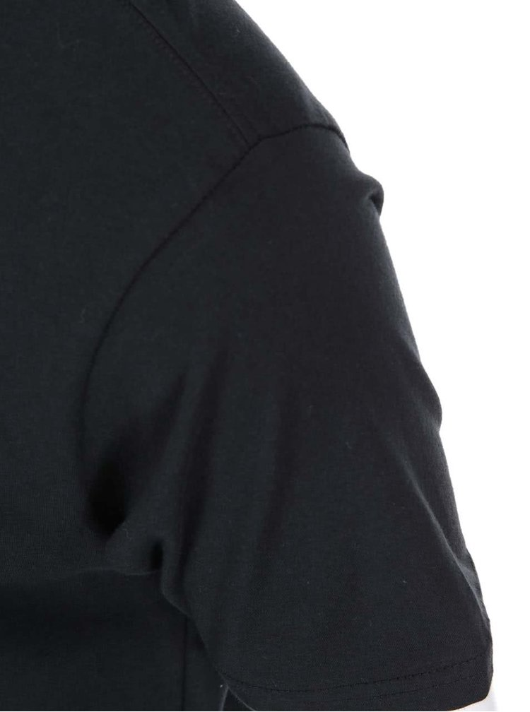 Černé pánské triko s potiskem Burton Lurch