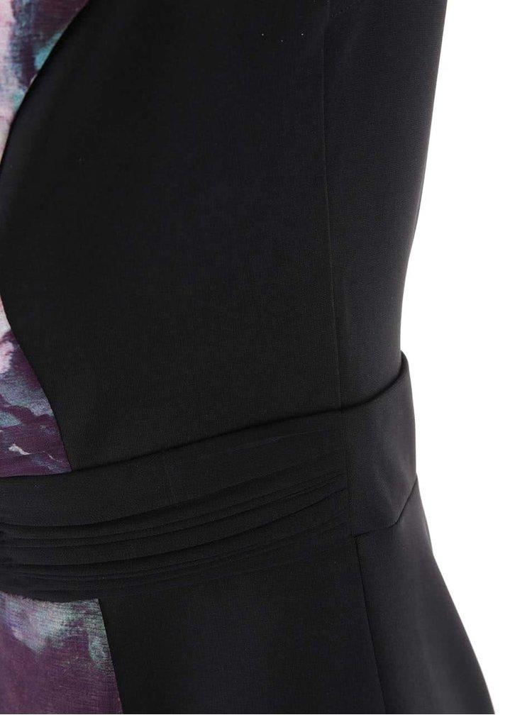 Černé bodycoon šaty Little Mistress