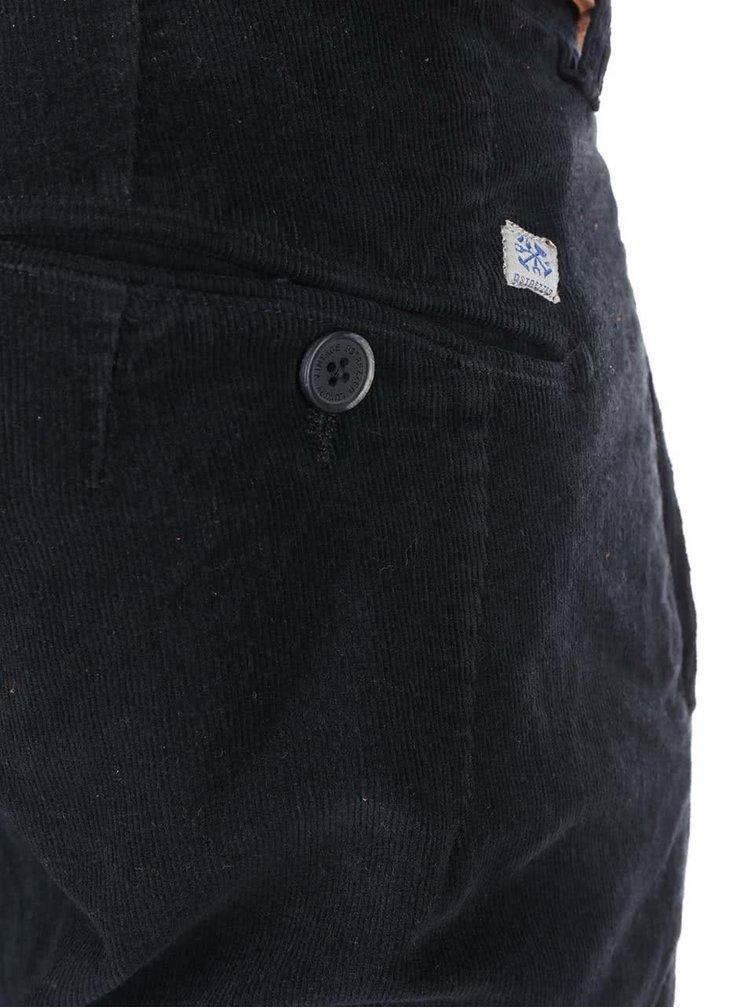 Černé chinos kalhoty Dstrezzed