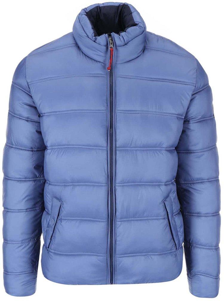 Jacheta matlasata albastra de la Dstrezzed
