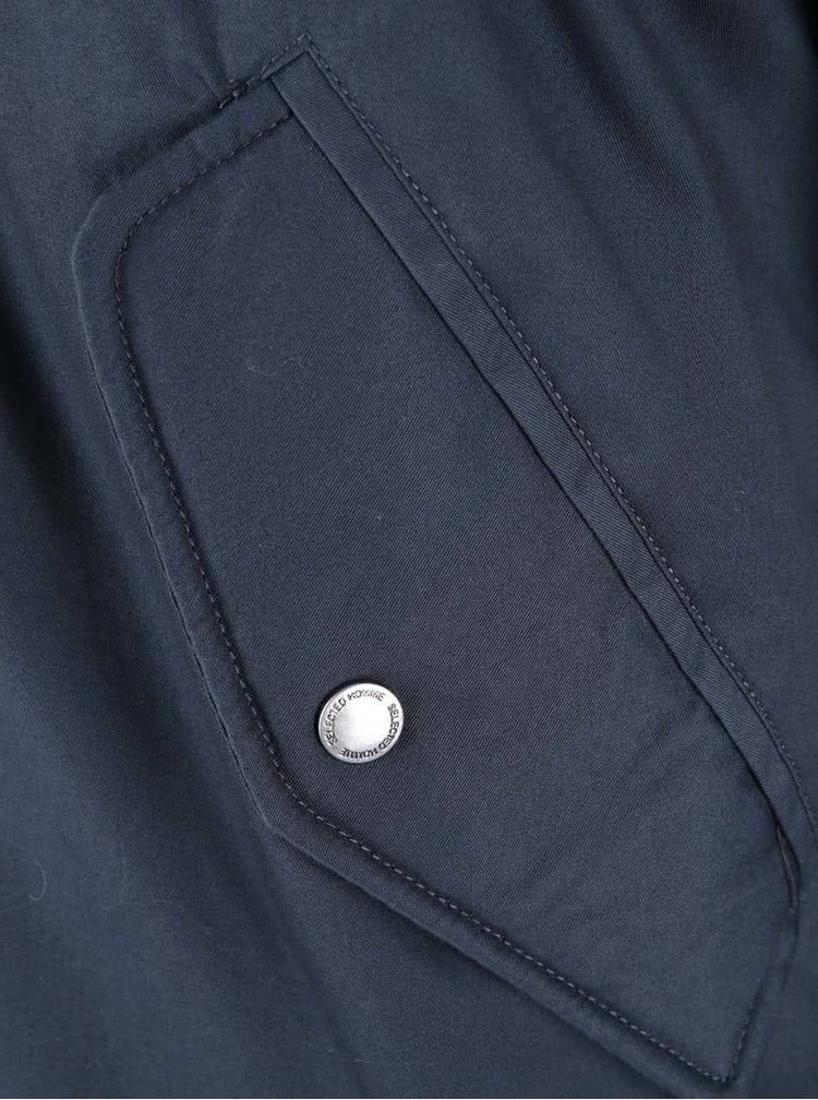 Tmavě modrá bunda Selected Homme Kean
