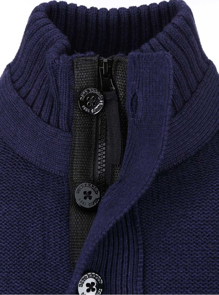 Tmavomodrý sveter Dstrezzed