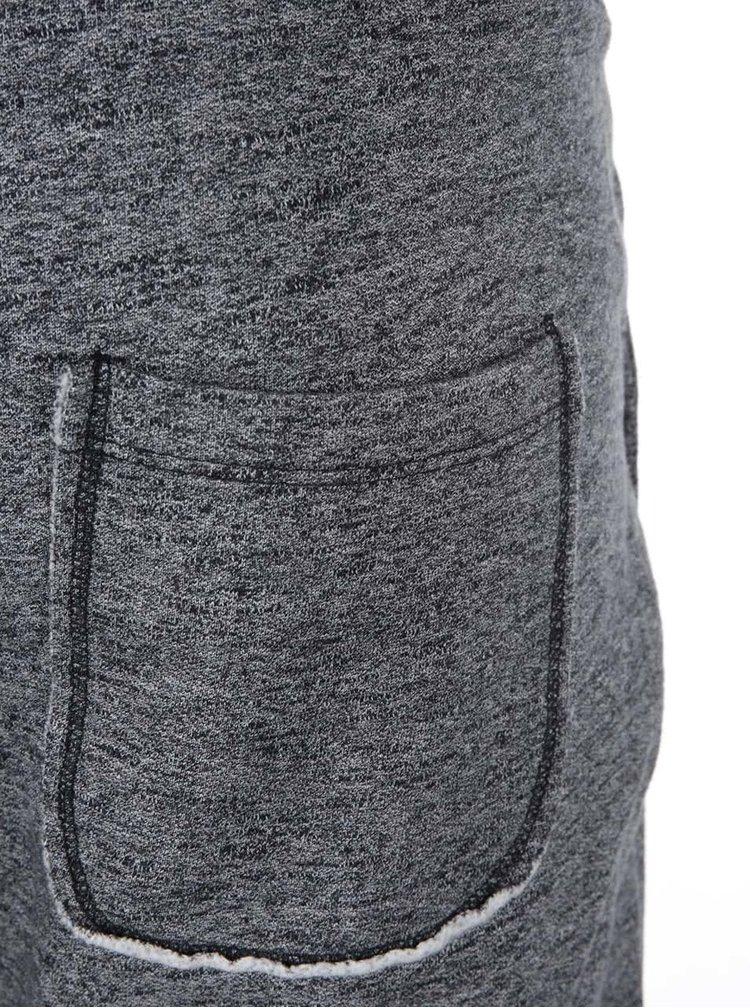 Sivo-čierne tepláky Selected Stroke