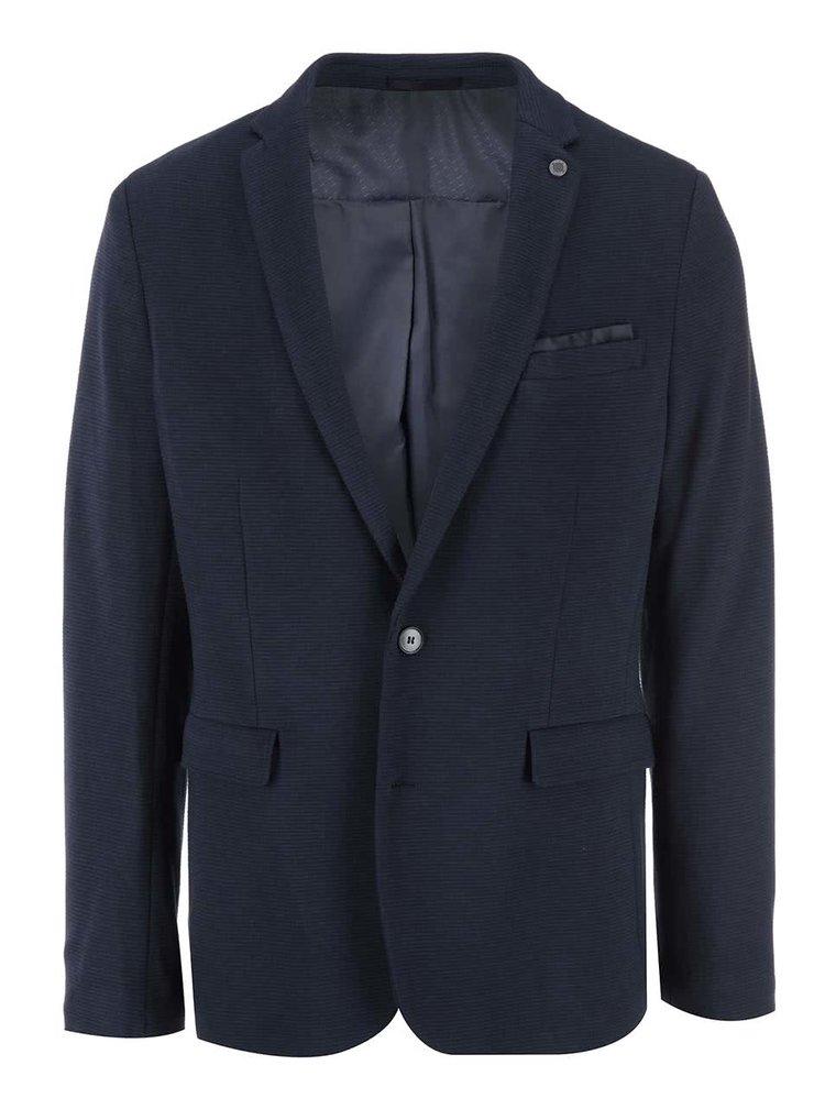 Tmavě modrý pánský blejzr Selected Homme Blazer Tailoring
