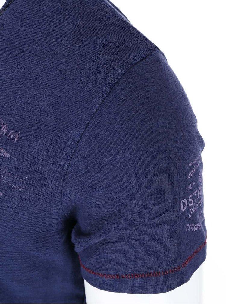 Tricou albastru de la Dstrezzed