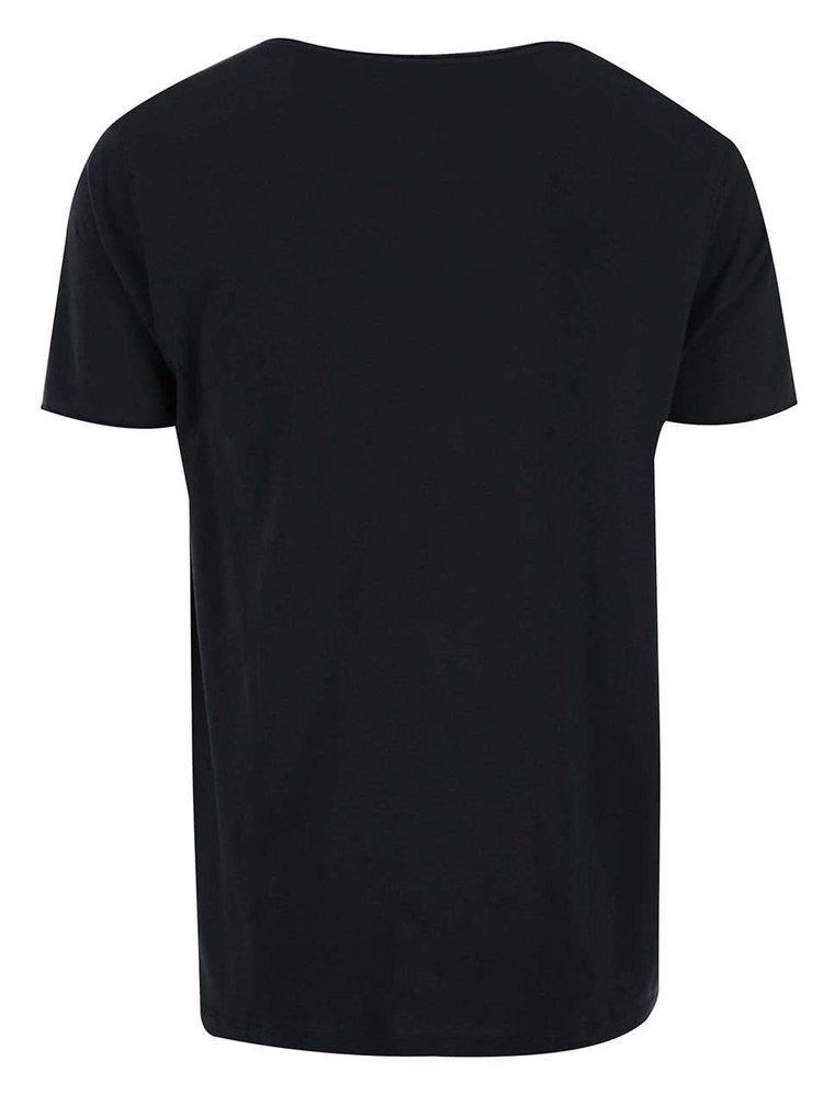 Černé tričko Selected Homme Pima