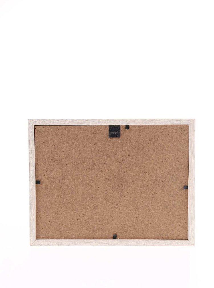 Černo-bílý rámeček na fotky Helio Ferretti Thin Stripes