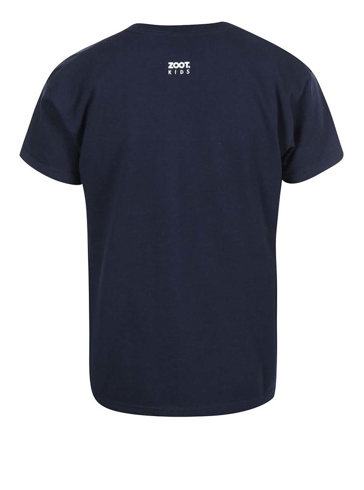 Tricou pentru baieti ZOOT Kids School Boy albastru
