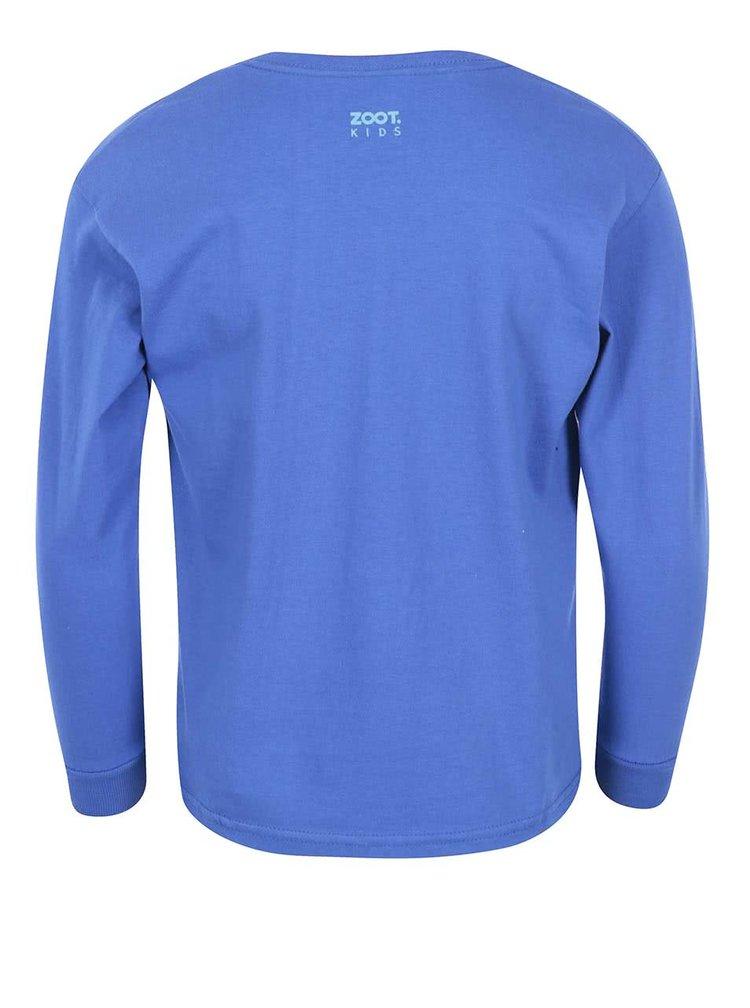 Modré chlapčenské tričko ZOOT Kids Kdo si hraje nezlobí