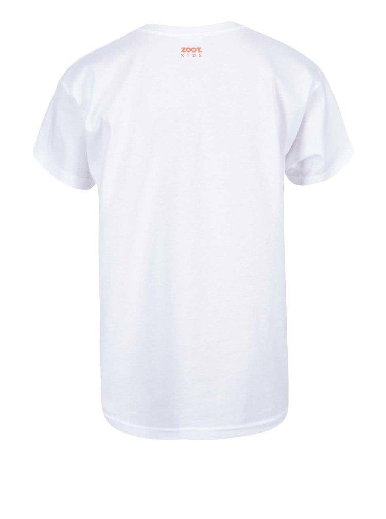 Tricou pentru fetițe ZOOT Kids Fox alb