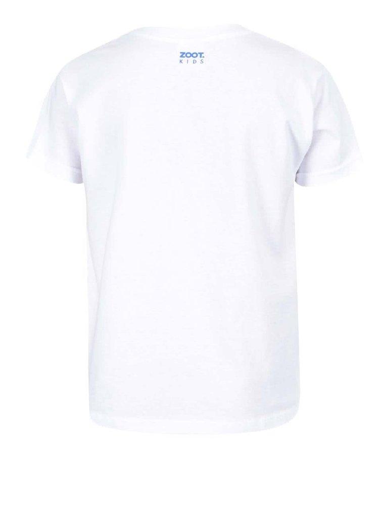 Biele detské tričko ZOOT Kids Proč