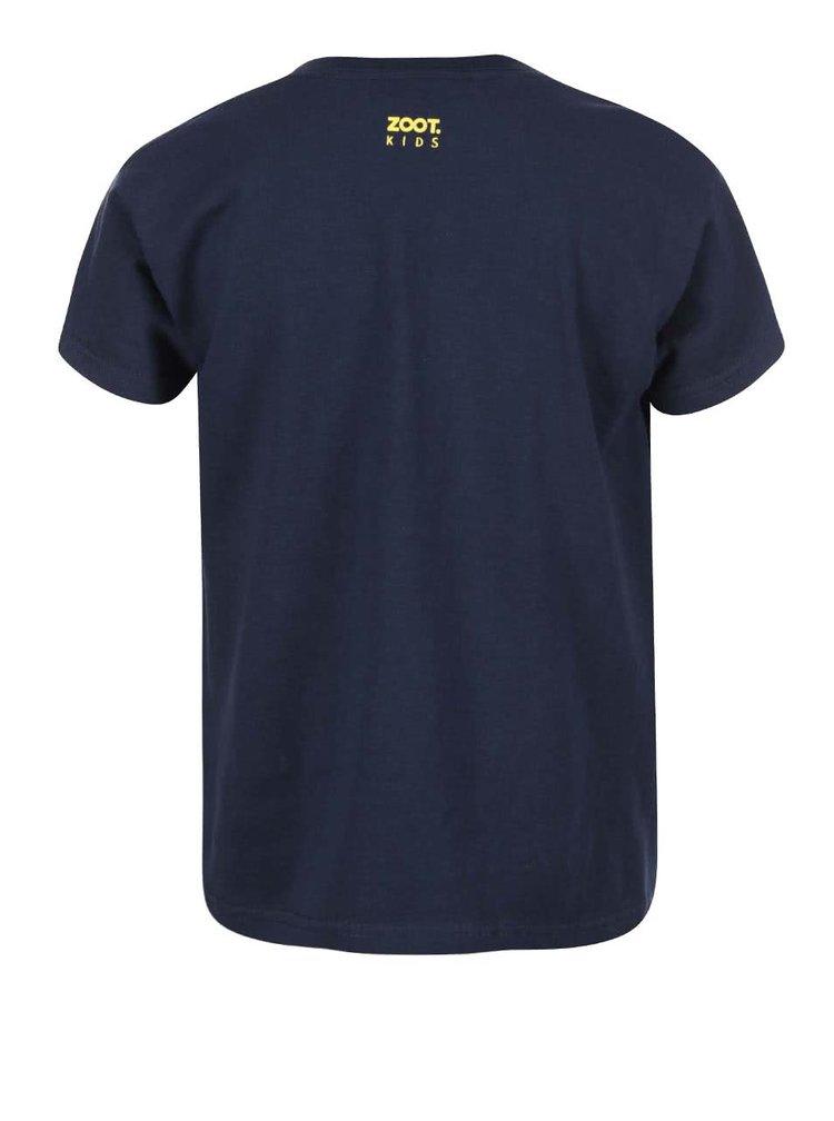 Modré dětské tričko ZOOT Kids Heč, dneska jdu po O