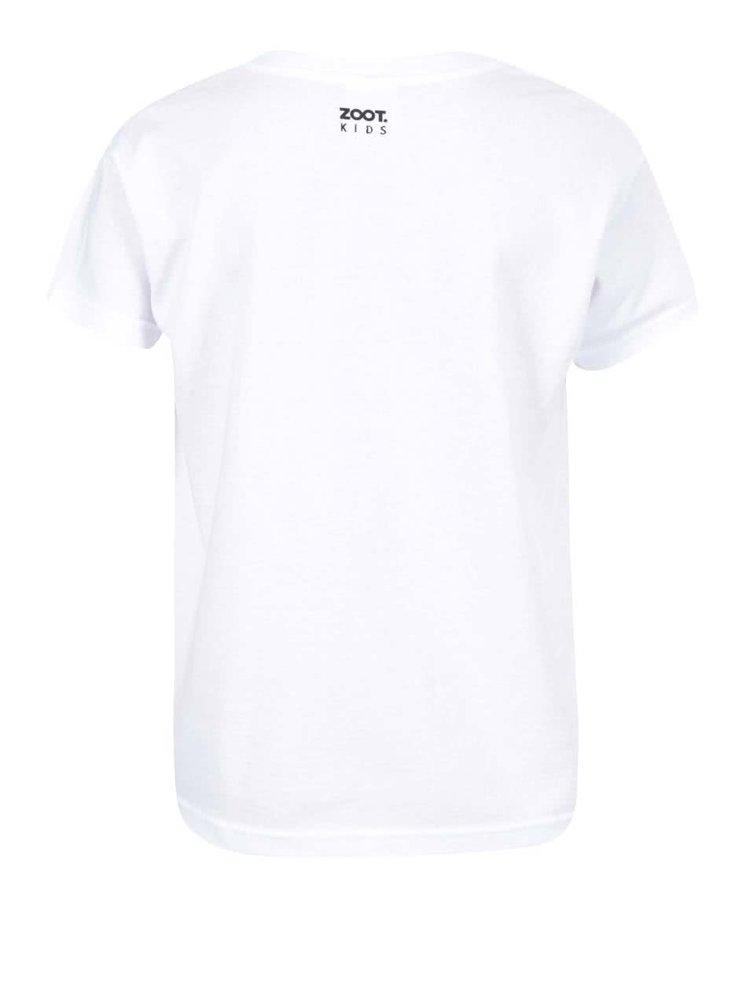 Bílé dětské triko ZOOT Kids Love My Mom