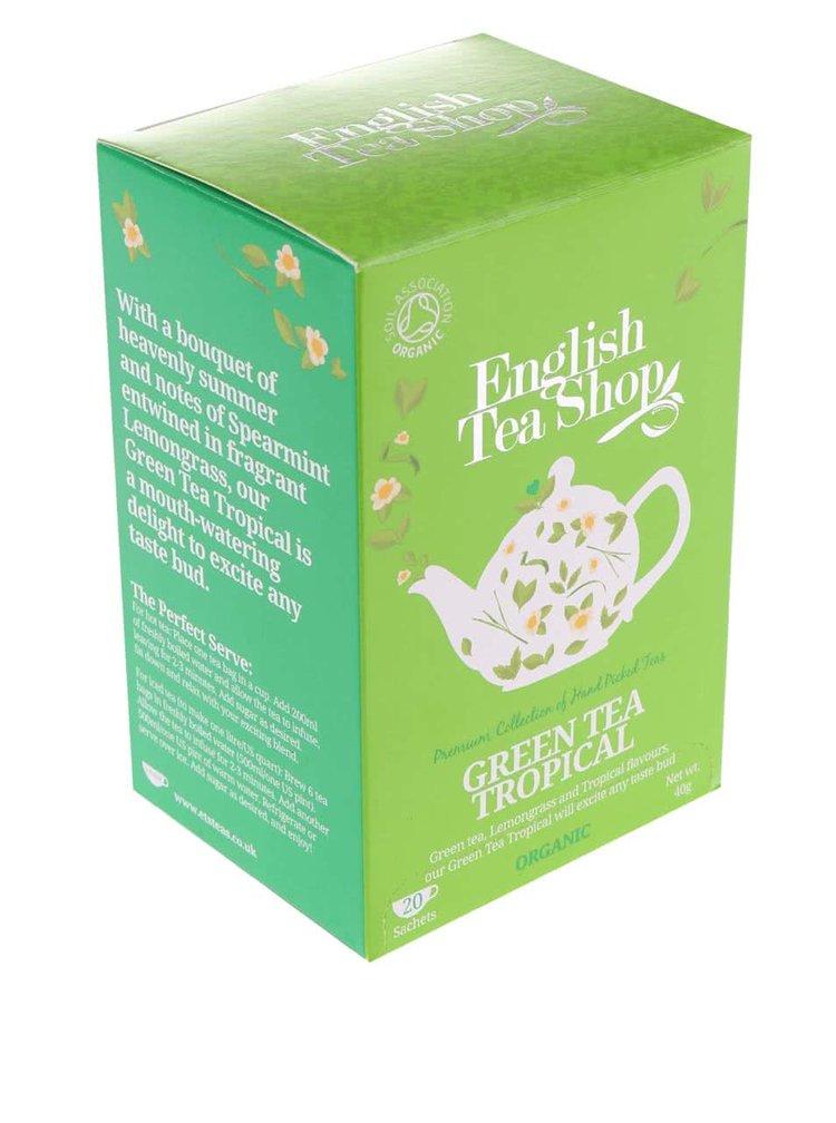 Zelený čaj English Tea Shop Tropické Ovoce Bio