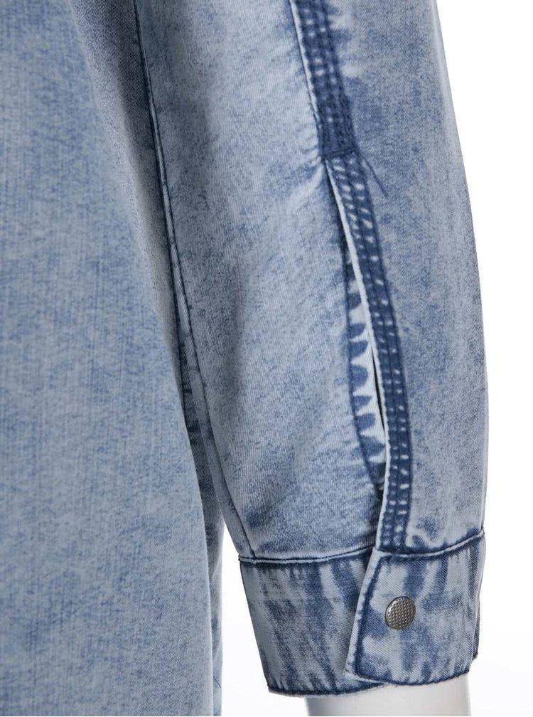 2dab938724db Modrá denimová dlhá košeľa Noisy May Patric