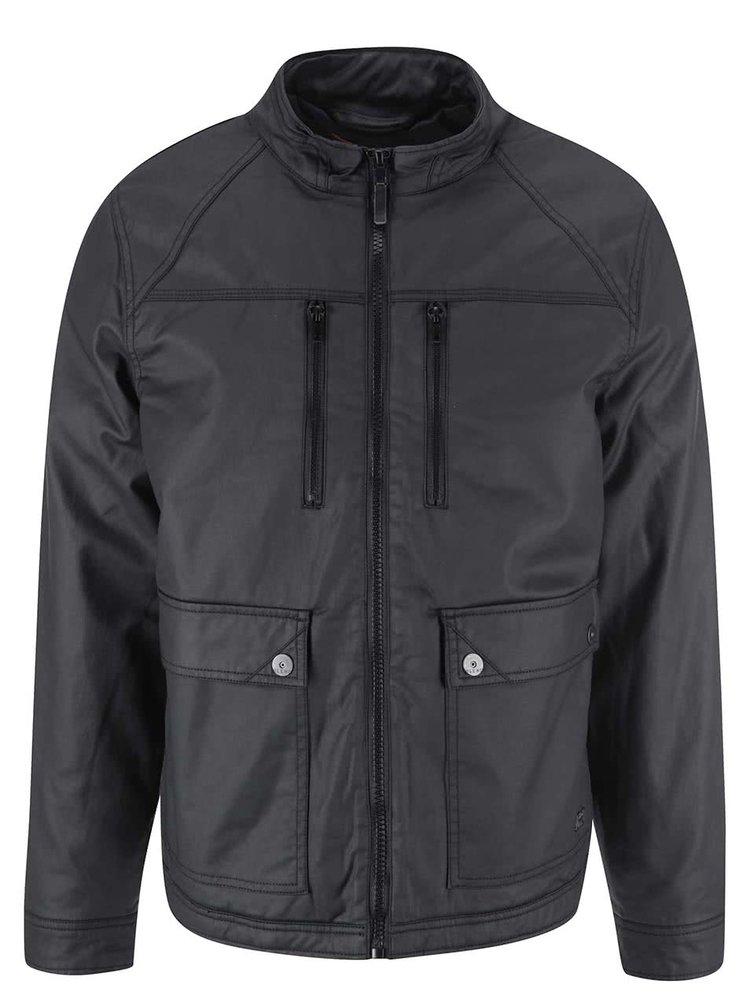 Jachetă neagră cu buzunare de la Blend