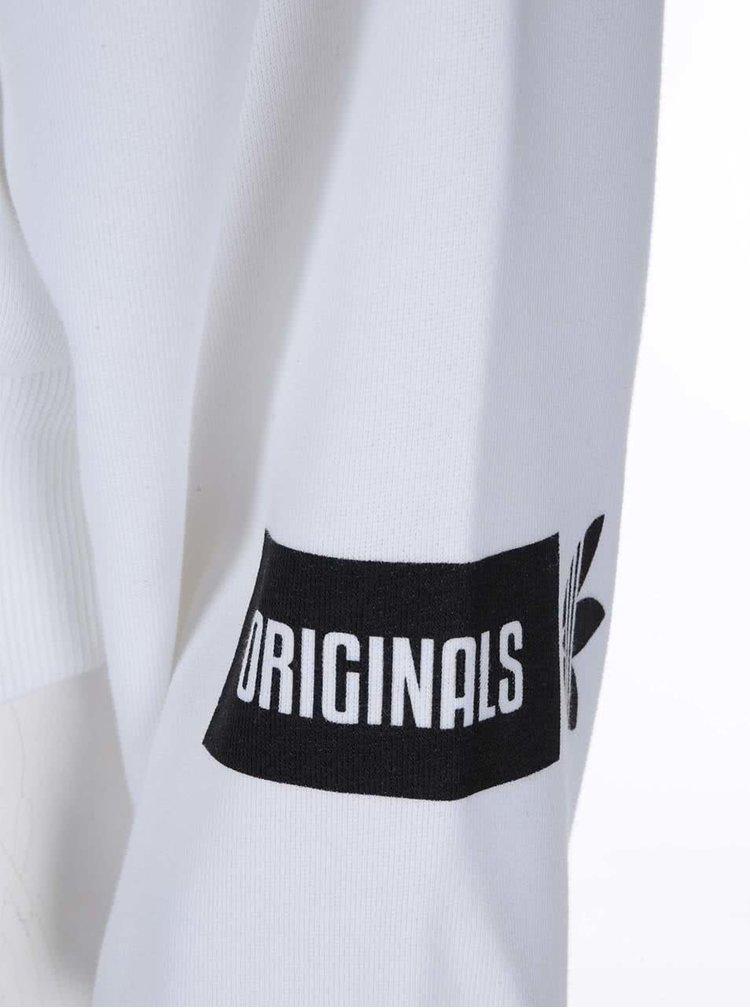 Biela dámska mikina adidas Originals Sweat