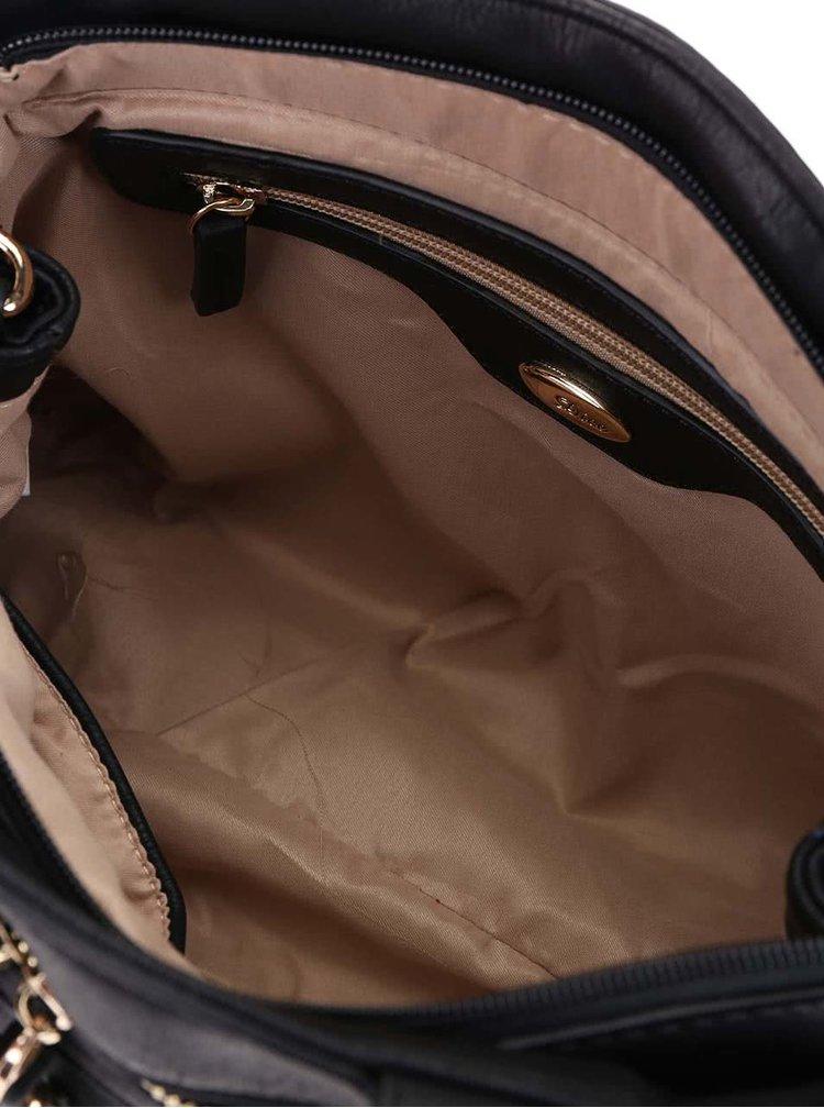 Čierna kabelka Dice Handbags Muriel