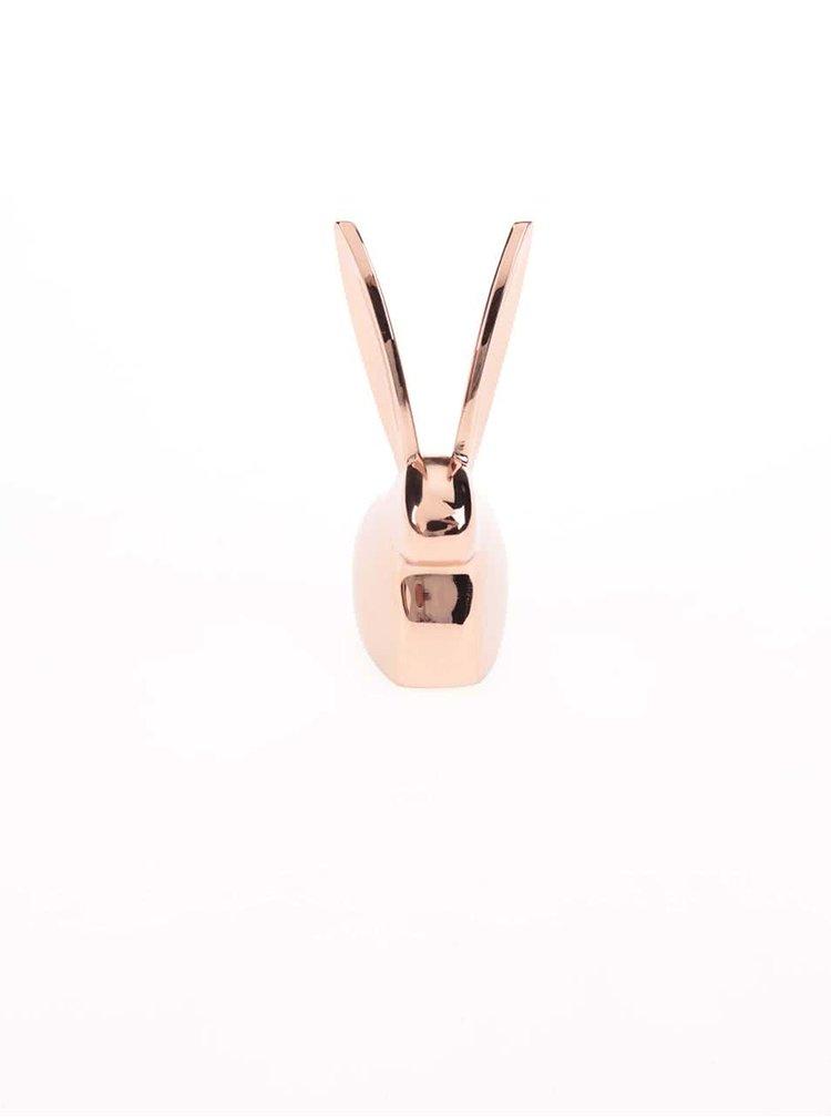 Stojánek na šperky v měděné barvě Umbra Anigram bunny